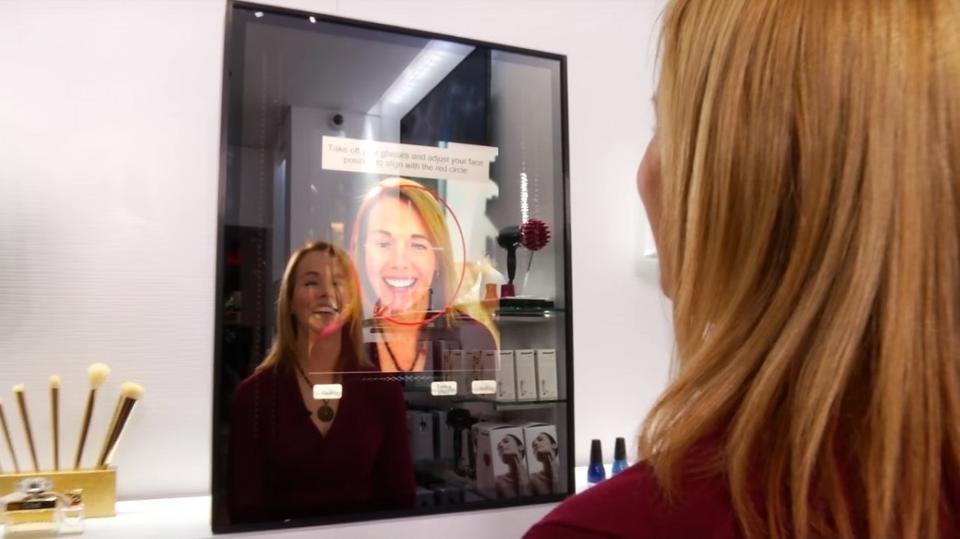 Smart Mirror de Panasonic